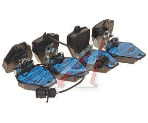 Колодки тормозные AUDI 100,A4,A6,A8 передние (4шт.) TRW GDB1162, GDB1162/1329, 4A0698151
