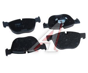 Колодки тормозные BMW X5 (E70),X6 (E71) передние (4шт.) TRW GDB1726, 34114074370/34116778403/34116779293