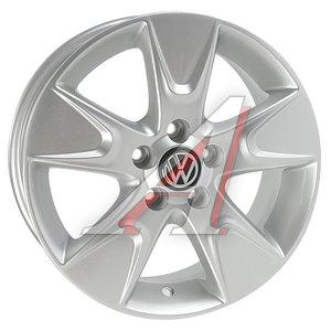 Диск колесный литой VW Polo Sedan R15 VW110 S REPLICA 5х100 ЕТ40 D-57,1