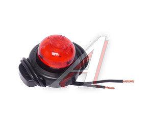 Фонарь габаритный и контурный 12/24V (шайба, светодиод) красный ЕВРОСВЕТ ГФ3.18LED