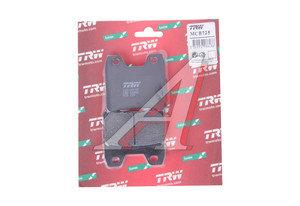 Колодки тормозные мото YAMAHA XJR1300 (07-) задние (2шт.) TRW MCB725