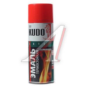 Краска красная термостойкая 520мл KUDO KUDO KU-5005, KU-5005