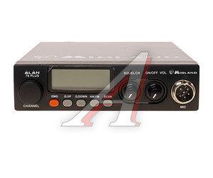 Радиостанция автомобильная ALAN 78 +, 27МГц, 40 каналов ALAN 78 +, Alan 78 +
