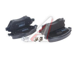 Колодки тормозные OPEL Corsa C (01-), Tigra B (04-) передние (4шт.) TRW GDB1570, 1605974/1605964