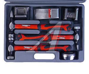 Набор инструментов 7 предметов рихтовочных (3 молотка,4 наковальни) (кейс) MATRIX 10845