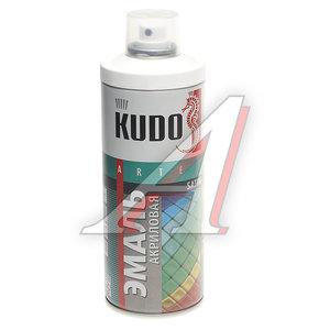 Краска белая акриловая satinRAL9003 520мл KUDO KUDO KU-0А9003, KU-0A9003