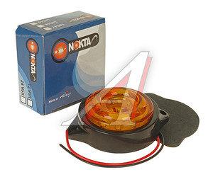 Фонарь габаритный LED 24V, круглый желтый (d=55мм 10-светодиодов,солнышко) АВТОТОРГ НК-0047/LED ж