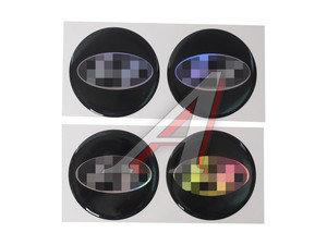 """Эмблема диска колесного """"HYUNDAI"""" (6см) комплект 4шт. 04685"""