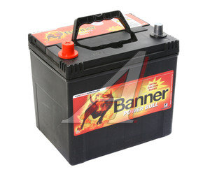 Аккумулятор BANNER Power Bull 60А/ч 6СТ60 P60 69, 83480