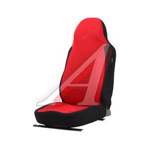 Авточехлы универсальные полиэстр (L) черно-красные (AIRBAG 3 молнии 7 предм.) Antares PSV 122149 PSV