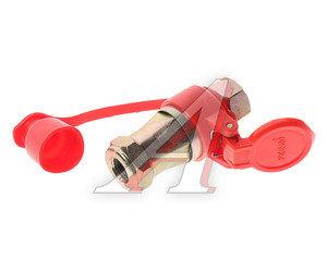 Головка соединительная тормозной системы прицепа 16мм (грузовой автомобиль) красная комплект FER-RO 100-3521010/11 (красная) (V), 100-3521010/11 (красная),