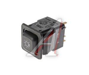 Выключатель кнопка ВАЗ-08,М-41 наружного освещения АВАР 375.3710-07.05 12V, 375.3710-07.05М