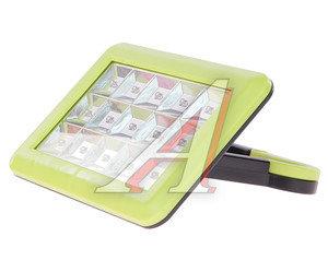 Фонарь-светильник аккум-ный 15 светодиодов (пластик) вращающаяся ручка,крючок,2 адаптера (IP44) ФАЗА AccuF5-L15