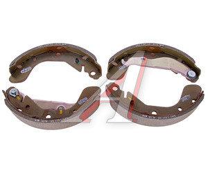 Колодки тормозные CHEVROLET Cobalt (13-) задние барабанные (4шт.) OE 95017074