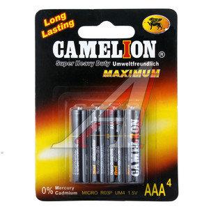 Батарейка AAA R03 1.5V Saline Maximum (по 1шт.) CAMELION C-R03бл