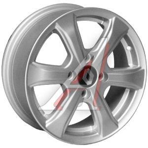 Диск колесный литой RENAULT Logan,Sandero R14 S TECH Line 408 4x100 ЕТ43 D-60,1