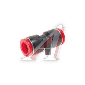 Соединитель трубки ПВХ,полиамид d=12мм прямой пластик US A6900, 07009316