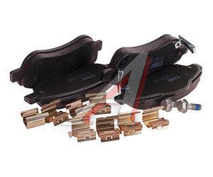 Колодки тормозные HONDA CR-V 3 (2.0/2.2) (07-) (4шт.) TRW GDB3445, 45022-SWW-G02/45022-SWW-G01
