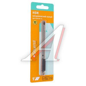 Нож 9мм с сегментированным лезвием автофиксатор STURM 1076-06-10