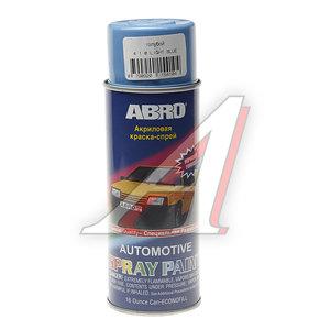 Краска светло-синяя аэрозоль 473мл ABRO 410 ABRO, L0410