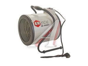 Пушка тепловая 1.5-3.0кВт 300куб.м/ч электрическая ERGUS QE-3000ET/649-257, 772-234