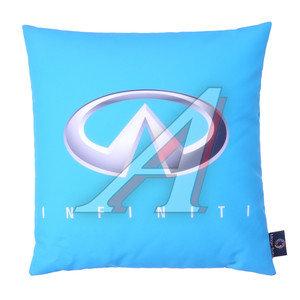 Подушка автомобильная INFINITI (35х35см) антистрессовая голубая MAGIC BALLS CK-00071