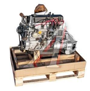 Двигатель УМЗ-421800 (АИ-92 89 л.с.) для авт.УАЗ с рычажным сцеплением № 4218.1000402-10 Евро-0, 4218.1000402-10