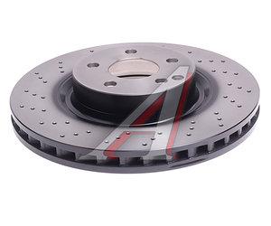Диск тормозной MERCEDES S (W221) (05-13) передний (1шт.) TRW DF6077S, A2214211012