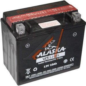 Аккумулятор ALASKA 10А/ч мото 6СТ10YTX12-BS, 83502