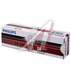 Лампа WBT5 1W W2х4.6d 24V PHILIPS 13521CP, P-13521