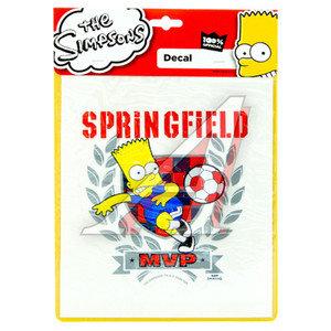 "Наклейка виниловая ""MVP Springfield Барт"" 18х23см THE SIMPSONS SP-10527"