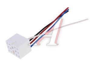 Колодка разъема ВАЗ-2108-12 выключателя-кнопки с 4-мя проводами АЭНК 2108, 9026