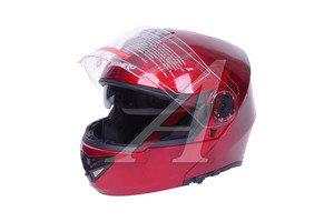 Шлем мото (модуляр) MF 120 Вишневый (Размер XS) MICHIRU MF 120 XS