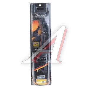 Шторка автомобильная для боковых стекол 50см (LL) роликовая черная 2шт. PRESIDENT ALCANTARA EDITION 1701351-159BK