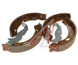 Колодки тормозные FORD Fiesta (09-) MAZDA 2 (07-) задние барабанные (4шт.) OE 1695033, GS8787, 1695033/1737303