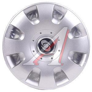 Колпак колеса R-14 декоративный серый комплект 4шт. 209 209 R-14,