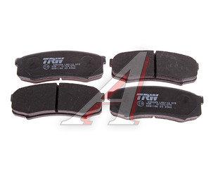 Колодки тормозные TOYOTA Land Cruiser 80, 90, 100 задние (4шт.) TRW GDB1182, 04466-60090