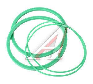 Ремкомплект КАМАЗ-ЕВРО фильтра грубой очистки масла зеленый силикон (2 поз./4 дет.) ТРАНССНАБ 740.1012010РК, 740-1012009, 7406.1012083