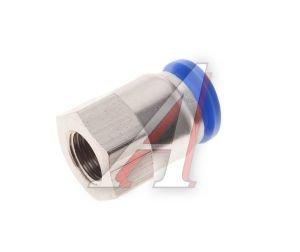 Соединитель трубки ПВХ,полиамид d=12мм (внутренняя резьба) М12х1.25 прямой PCF M12x1.25 d=12, АТ-0728