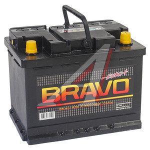 Аккумулятор BRAVO 55А/ч обратная полярность 6СТ55