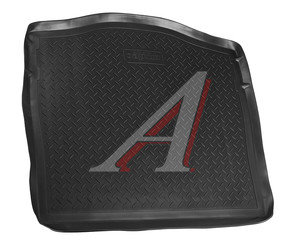 Коврик багажника FORD Focus 2 седан (05-11) полиуретан NOR NPL-P-22-15