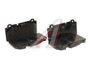 Колодки тормозные MERCEDES S (W221) передние (4шт.) OE A004420802041, GDB1733, A004420802041/A0044208020