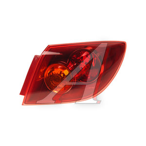 Фонарь задний MAZDA 3 хетчбек (04-) правый (красный наружный) TYC 11-6117-A1-2B, 216-1964R-UE-R, BP4K-51-150D