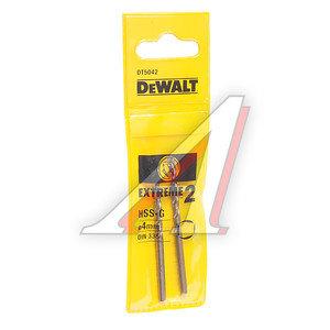 Сверло по металлу 4.0х75мм (2шт.) Extreme2 DEWALT DT 5042,