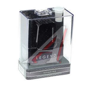 Ароматизатор на дефлектор жидкостный (черный лед) с пробником LEGEND LEG-1