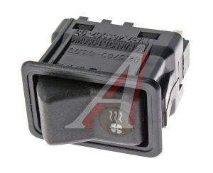 Выключатель клавиша ГАЗ-3110 отопителя АВТОАРМАТУРА 82.3709-03.09