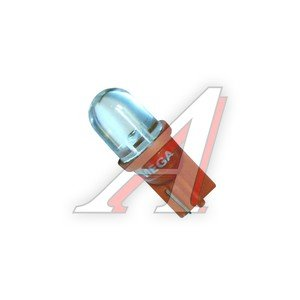 Лампа 24VхW5W (W2.1х9.5d) STANDARD 1 свет-д RED MEGAPOWER M-30407R-24V