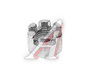 Гайка М14х1.5 прорезная болтов маховика двигателя ЗИЛ РААЗ 250870-П