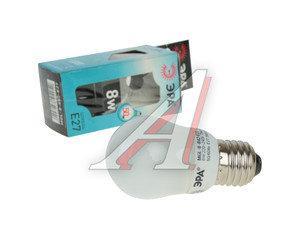 Лампа энергосберегающая E27 8W(50W) 480Лм 220V холодный ЭРА ЭРА MGL-8-842-E27, ER-SP278N