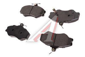 Колодки тормозные HYUNDAI Porter передние (увелич.пробег) (4шт.) SANGSIN SP1072RED, 58101-4BA10